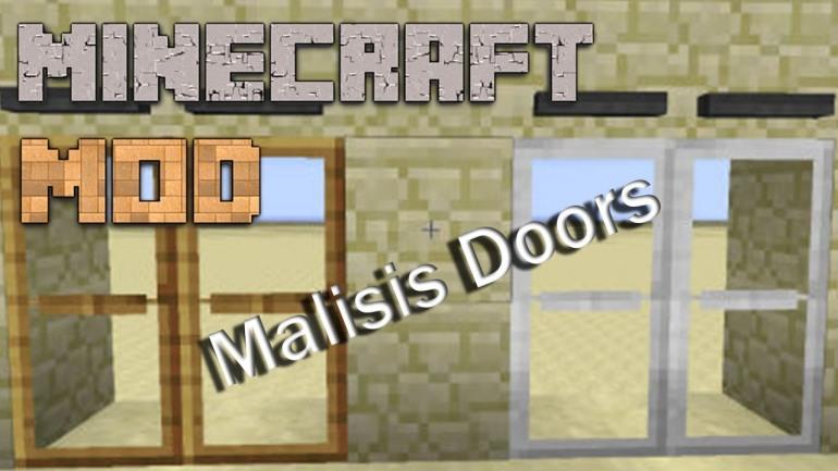 Скачать Моды На Майнкрафт 1.6.4 Malisis Doors Mod